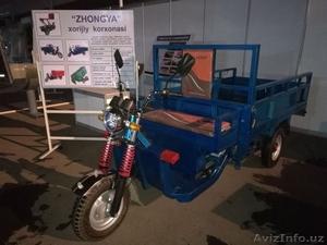 """Электронные грузовые мотоциклы фирмы """"zhongya"""" - Изображение #1, Объявление #1622201"""